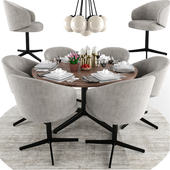 Lema Bice Dining Chair Set