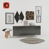 Декоративный набор Living room
