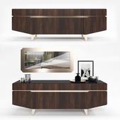 Коллекция мебели для гостиной Accademia Комод+Зеркало