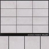Fiore Avenue White 300x600