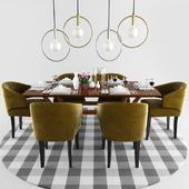 Brabbu Ibis Dining Chair Set 2