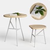Puccio table & stool