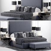 RH Sullivan Upholstered Platform Bed
