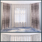 curtains from the house of textiles TOGAS