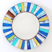 Round Mirror Patchwork