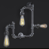 Industrial Wall Sconce 2