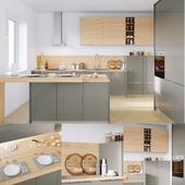 Kitchen Nolte Corona 19Q | Legno 59C (corona PBR)
