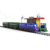 """Children's toy """"Railway"""""""