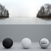 HDRi Winter