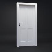 Classic white doors - Portadoors PortaSKANDIA model B0