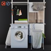 laundry decor ikea