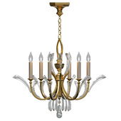 Fine Art Lamps Beveled Arcs Gold