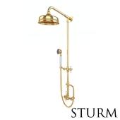 Shower rack STURM Victorian 2, color gold