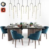 Minotti Amelie Dining Chair Set