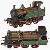 Vintage toy train