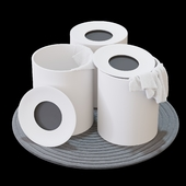 Rexa Design HOLE Laundry containers