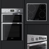 Indesit - Aria DDD 5340 C IX dual oven and VRB 640 X hob