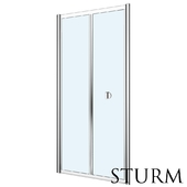 Shower door to STURM Astra niche