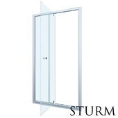 Shower door to STURM Fortuna niche