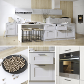 Kitchen from Nolte Frame Lack facades