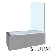 Шторка на ванну STURM Mia