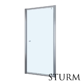 Shower door to STURM Puerta niche