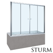 Шторка на ванну STURM Regen