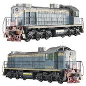 Shunting diesel locomotive TEM2