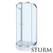 Shower enclosure STURM Welle