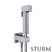 Гигиенический душ STURM Square, цвет хром