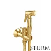 Гигиенический душ STURM Style, цвет золото