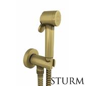 Гигиенический душ STURM Traum, цвет бронза