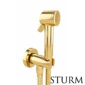 Гигиенический душ STURM Traum, цвет золото