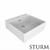 Sink laid STURM Step square
