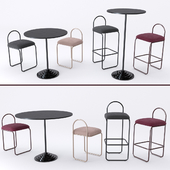 Angui Barchair Chair & Solus Table AYTM