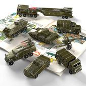 Soviet military toys
