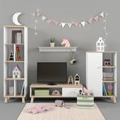 Мебель Paidi коллекция YLVIE для девочки часть 02