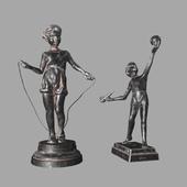 Figurines of Casley Happy childhood