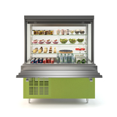 Refrigerated showcase Oasis