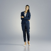 Woman Emily Business Standing 001