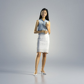 Woman Emily Business Standing 002
