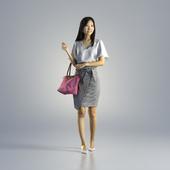Woman Jess Business Walking 001
