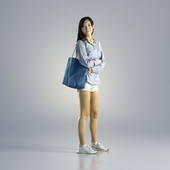 Woman Jess Casual Standing 001