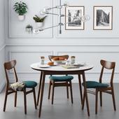 Dining set001 - West Elm