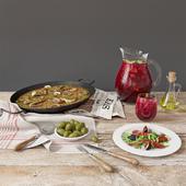 Паэлья с морепродуктами | Paella de Marisco