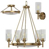 Collier Elstead lamp set