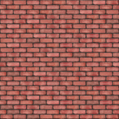 Red wall brick texture