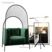 Flix Armchair Set