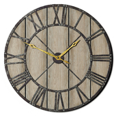 Decorative Rustic Wall Clock