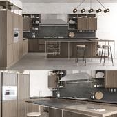 Snaidero Frame olmo tuscan kitchen